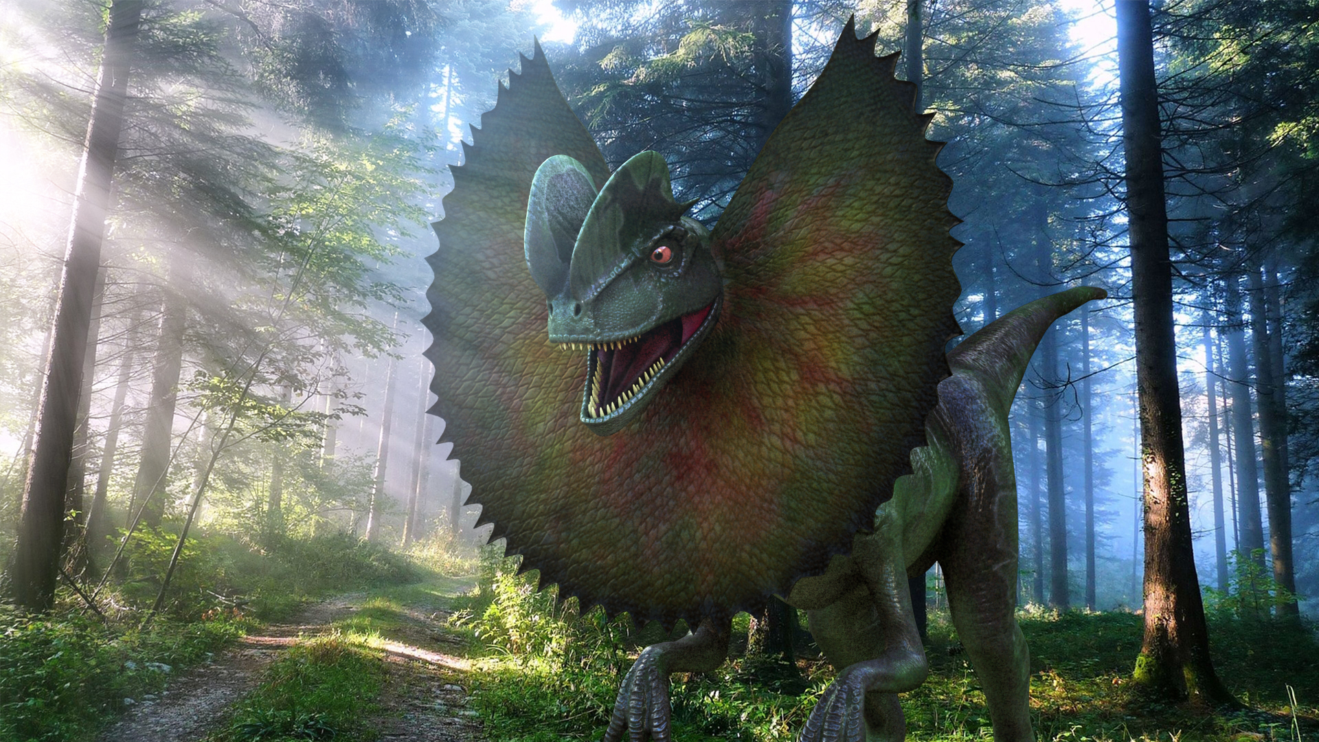 Dilophosaurus双脊龙
