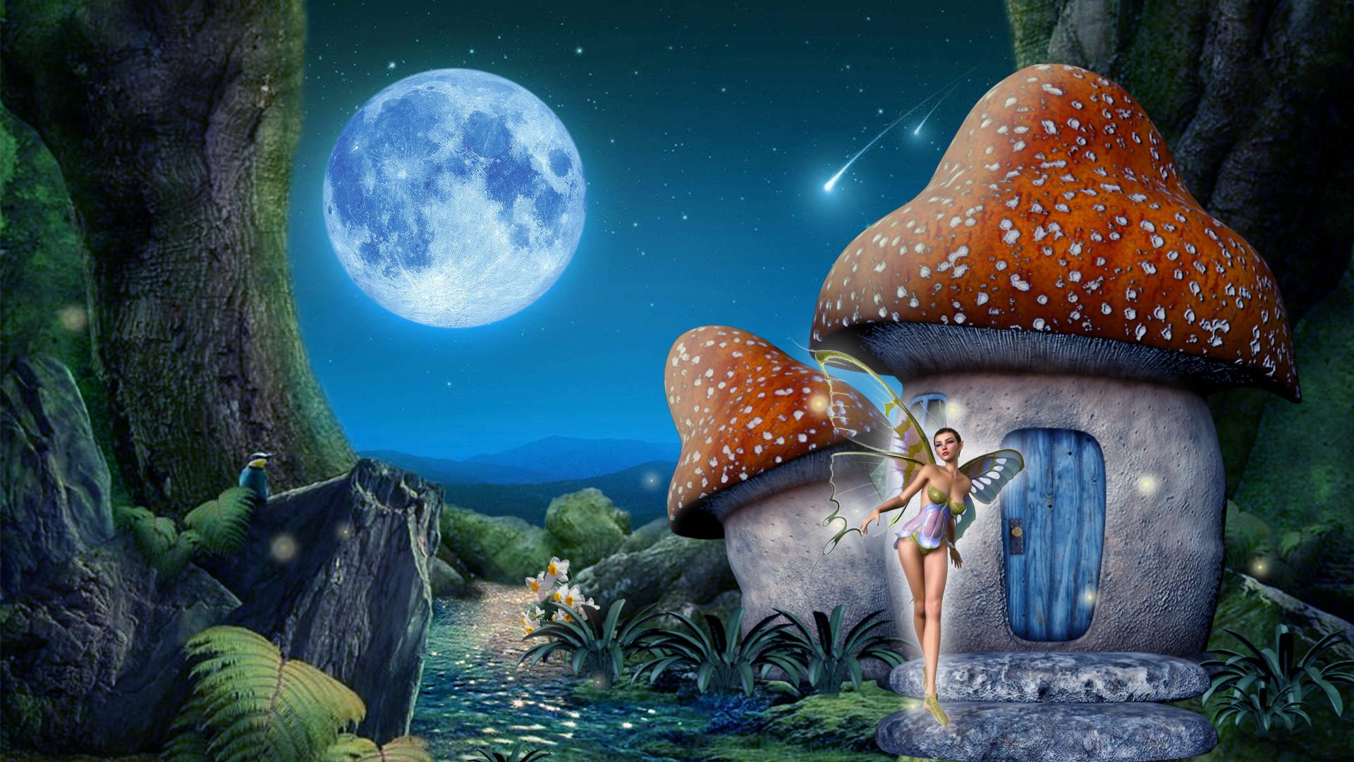 Mushroom Fairy House 蘑菇精灵屋